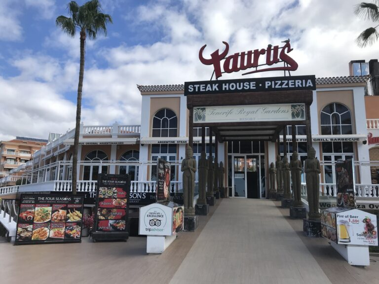 taurus steakhouse las americas
